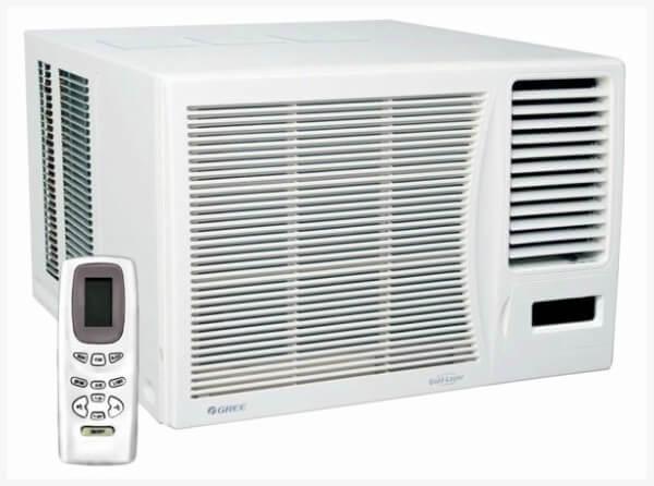 Ar Condicionado Janela Gree 10000 BTUs Frio 220V com Controle