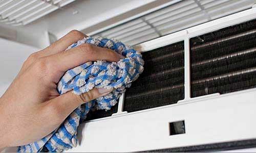 Secando - Como limpar o seu Ar Condicionado Split - WebContinental