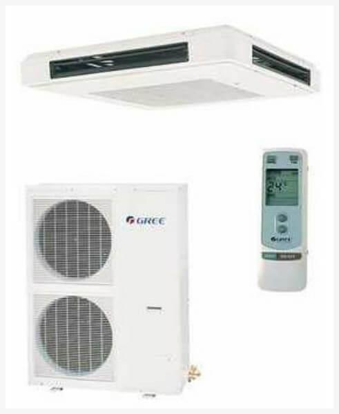 ar condicionado split quatro lados