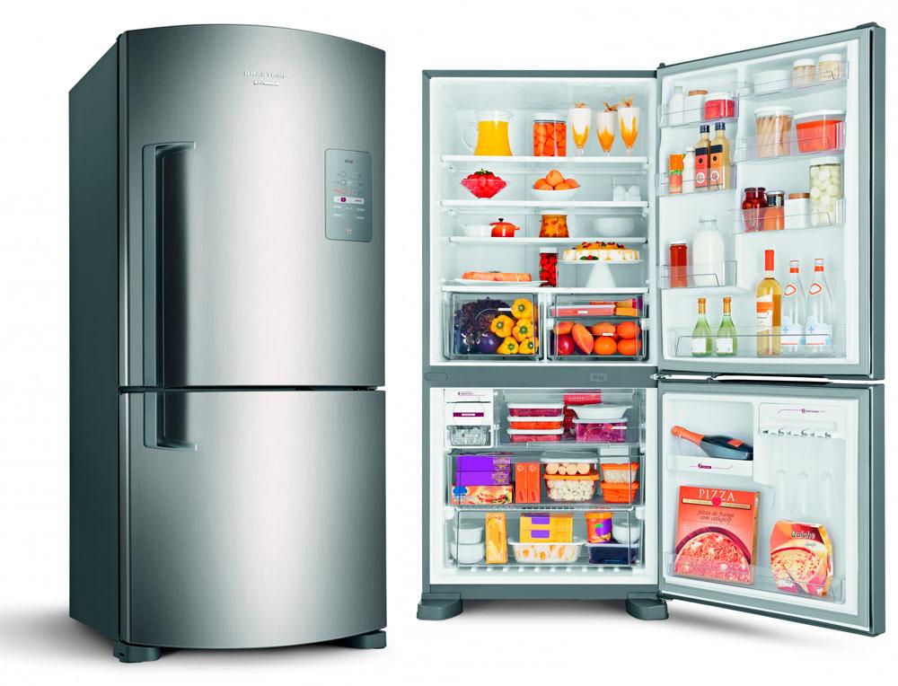 Refrigerador Brastemp Inverse Maxi Frost Free Inox 573L - Blog WebContinental