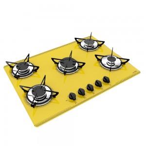 cooktop amarelo