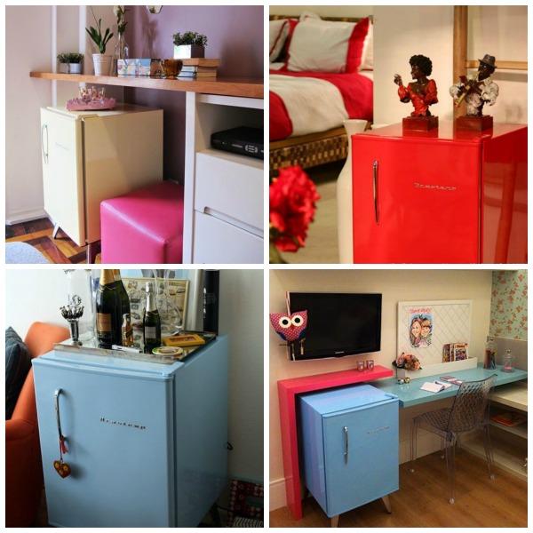 Frigobar para quarto: modelos compactos que não ocupam muito espaço