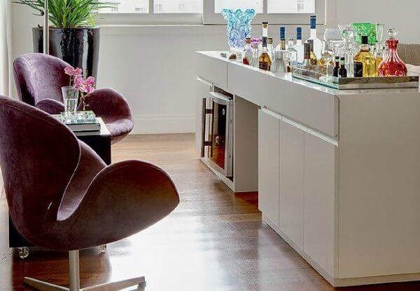 barzinho em casa com balcão