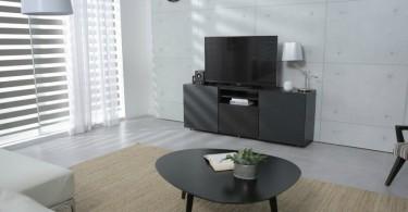 sala pequena com tv