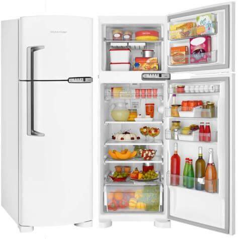 Imagem mostrando geladeira Brastemp Duplex BRM39