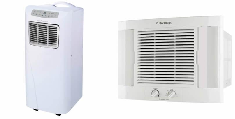 Ar condicionado para espaços pequenos