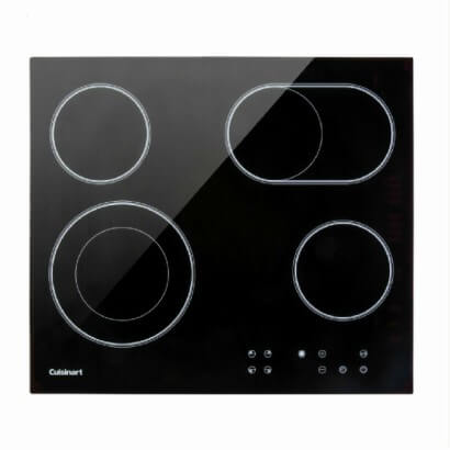 Cooktop Elétrico Vitrocerâmico Cuisinart - 4 Queimadores