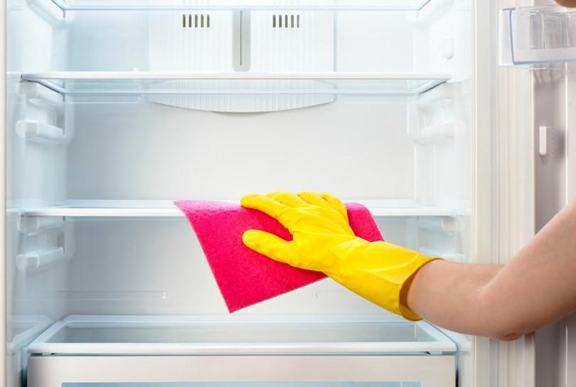 Limpeza de geladeira