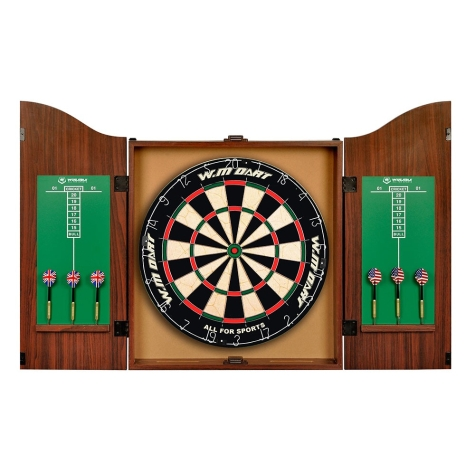 Kit Jogo de dardo Gabinete - WinMax - Ahead Sports WMG50275