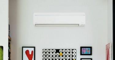 ar condicionado econômico na sala