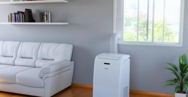 Ar-condicionado portátil ideal para você