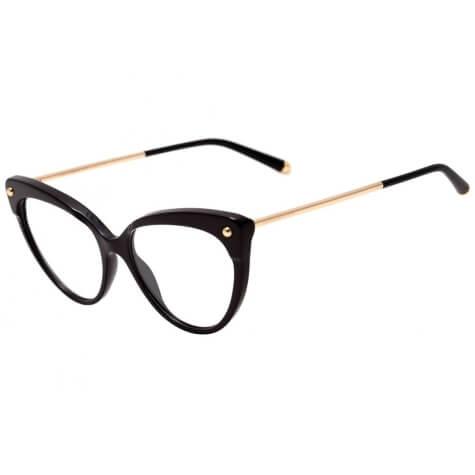 Imagem de óculos com armação de gatinho