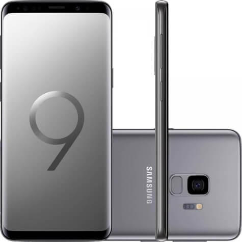 Foto do celular Galaxy s9