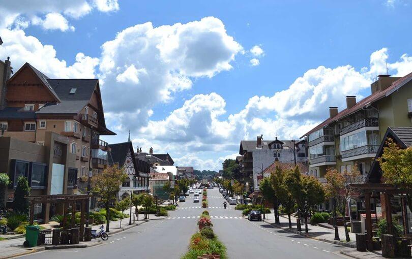Cidade de Gramado, na Serra Gaúcha