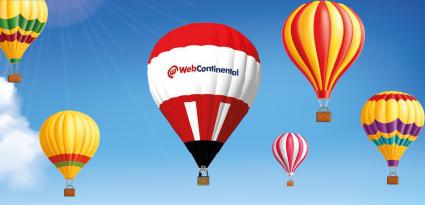 Balão WebContinental