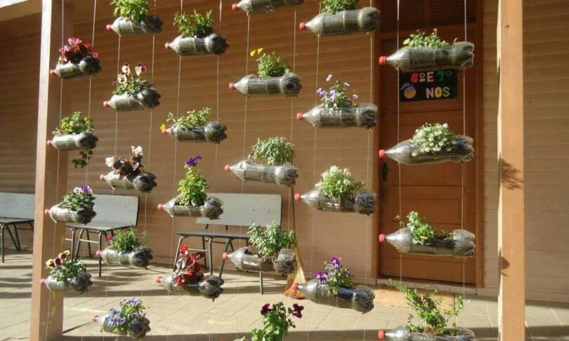 Jardim vertical reciclavell