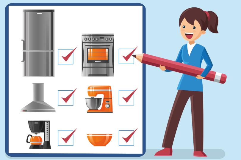 Checklist da cozinha perfeita