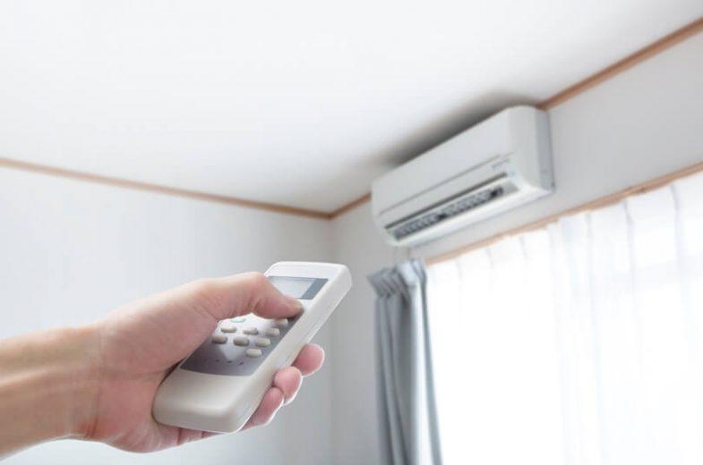 Ar-condicionado quente gasta mais?