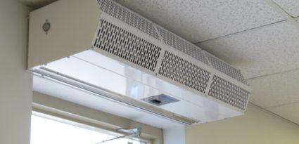 Cortina de ar pode ser usada no inverno?