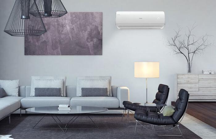 Sala de estar com ar-condicionado Elgin